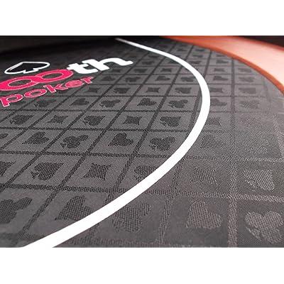 Redtooth Poker 8-Seat Poker Table Top: Juguetes y juegos
