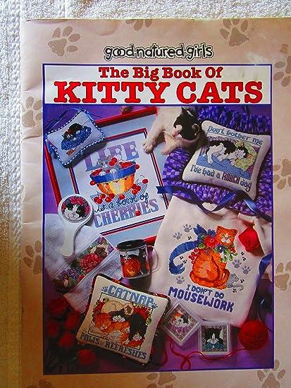 Amazon.com: El gran libro de Kitty de gatos de punto de cruz ...
