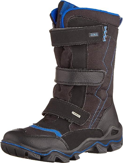Primigi Boys' PPT Gore-tex 43936 Snow Boots, Black (Nero/Nero/Nero 4393622), 1 UK,Primigi,4393622