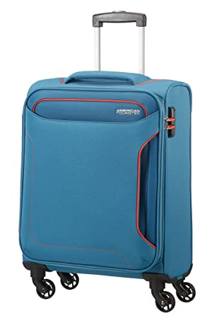American Tourister Holiday Heat Spinner 55/20, 38 L - 2.6 KG Equipaje de Mano, 55 cm, Liters, Azul (Denim Blue): Amazon.es: Equipaje