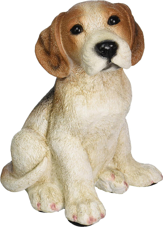 Design Toscano CF345 Beagle Puppy Dog Statue,Full Color