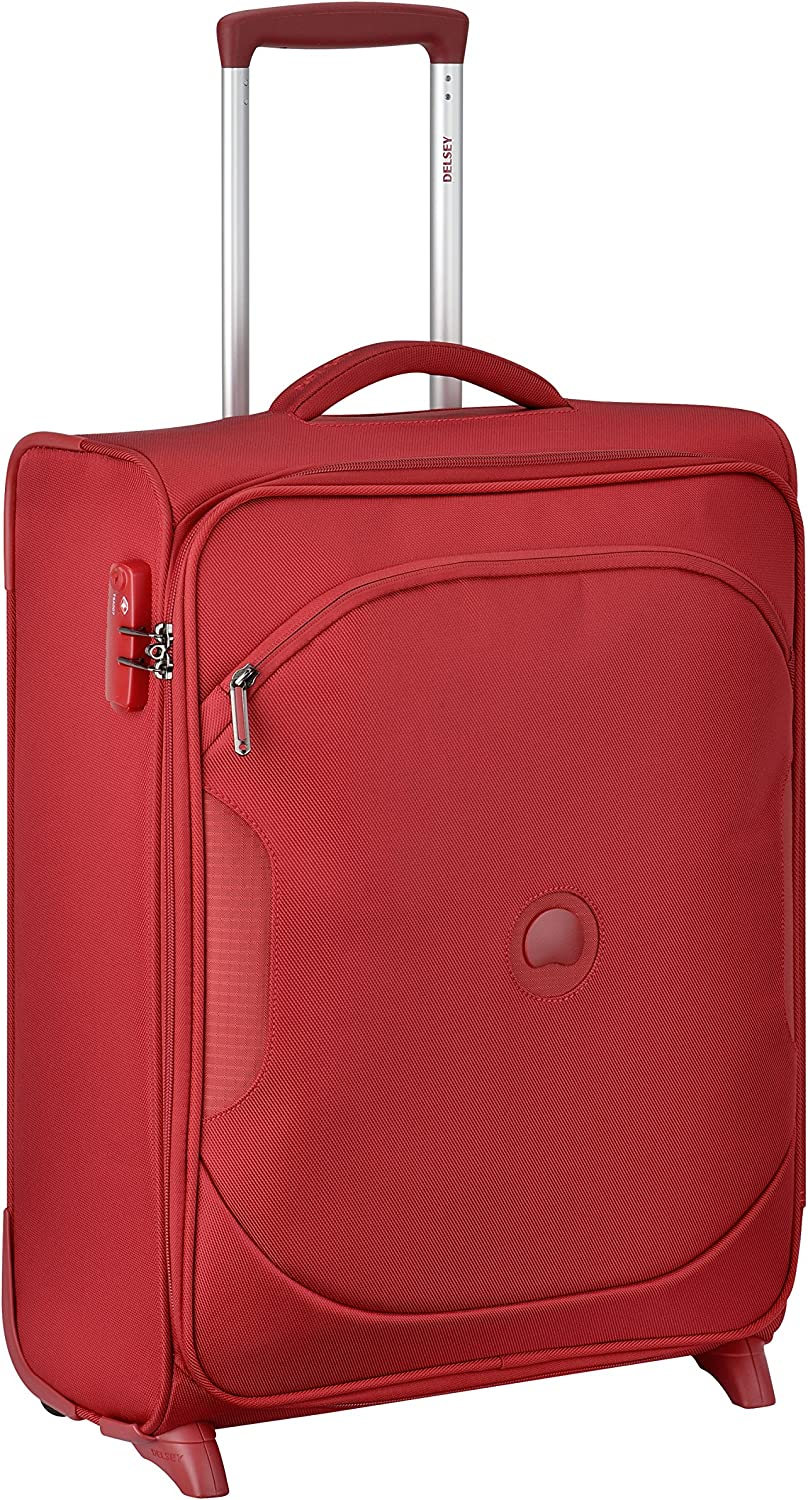 40 liters DELSEY PARIS U-LITE CLASSIC 2 Hand Luggage Rouge Red 55 cm