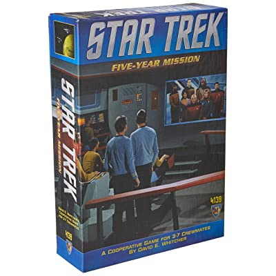 Star Trek: Five Year Mission Board Game: Toys & Games