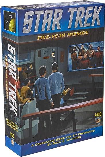 Star Trek Mission Board Game