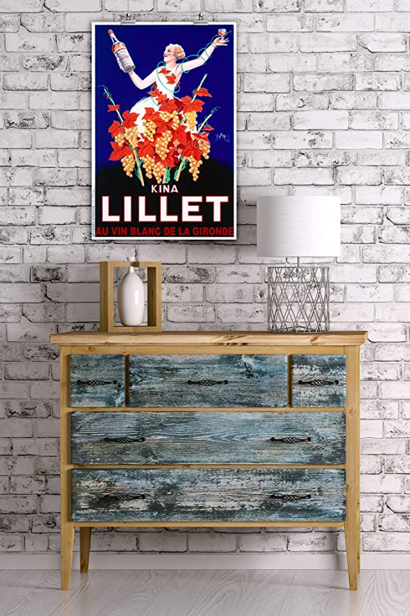 Amazon.com: Kina - Lillet Vintage Poster (artist: Robys ...