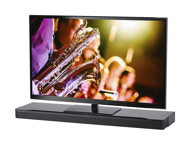 SoundXtra - Support au Sol pour TV et Barre de Son Bose SoundTouch 300 et Sounbar 700 - Noir BST300ST1021