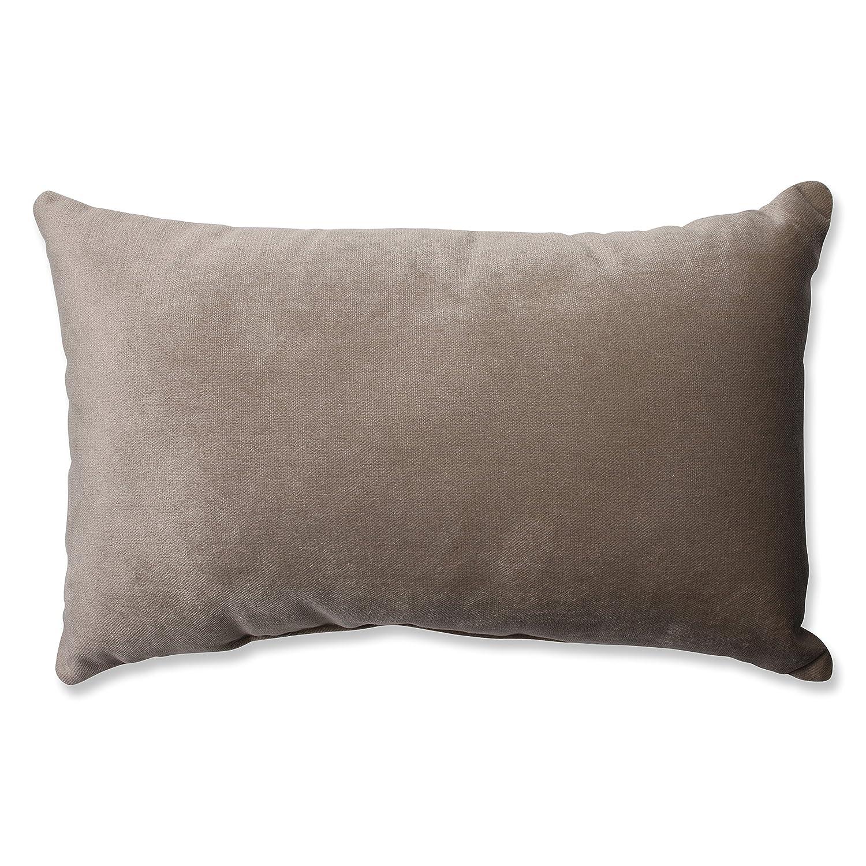 Pillow Perfect Belvedere Driftwood Knit Velvet Floor Pillow, 24.5-Inch Inc. 576046