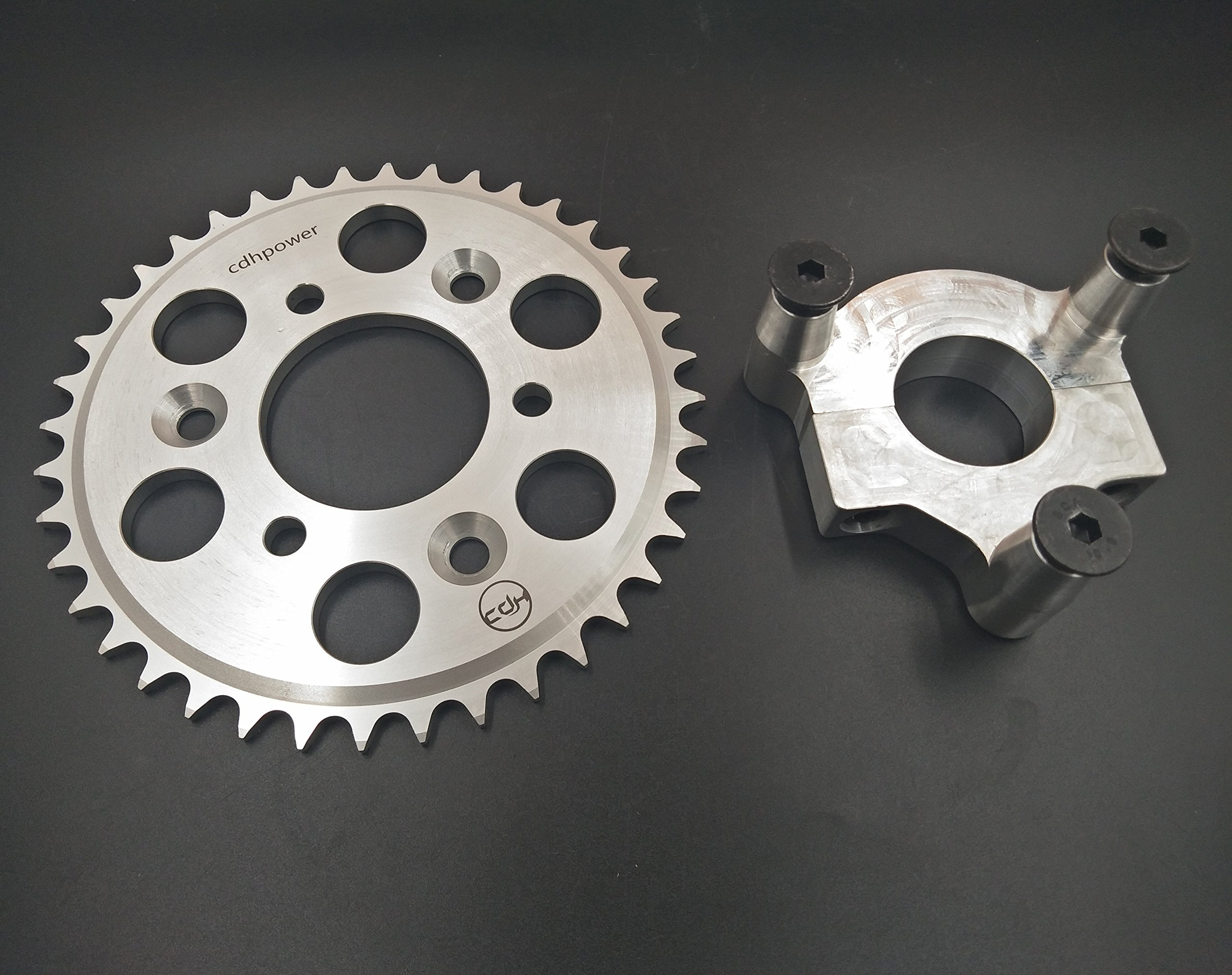 CDHPOWER Rear Hub Adapter 1.5'' and 40T sprocket for 2 stroke engine kit 48cc/66cc/80cc