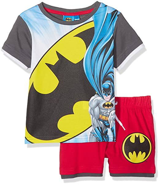 DC Comics Batman, Ropa Interior de Deporte para Niños, Gris Grey, 7-