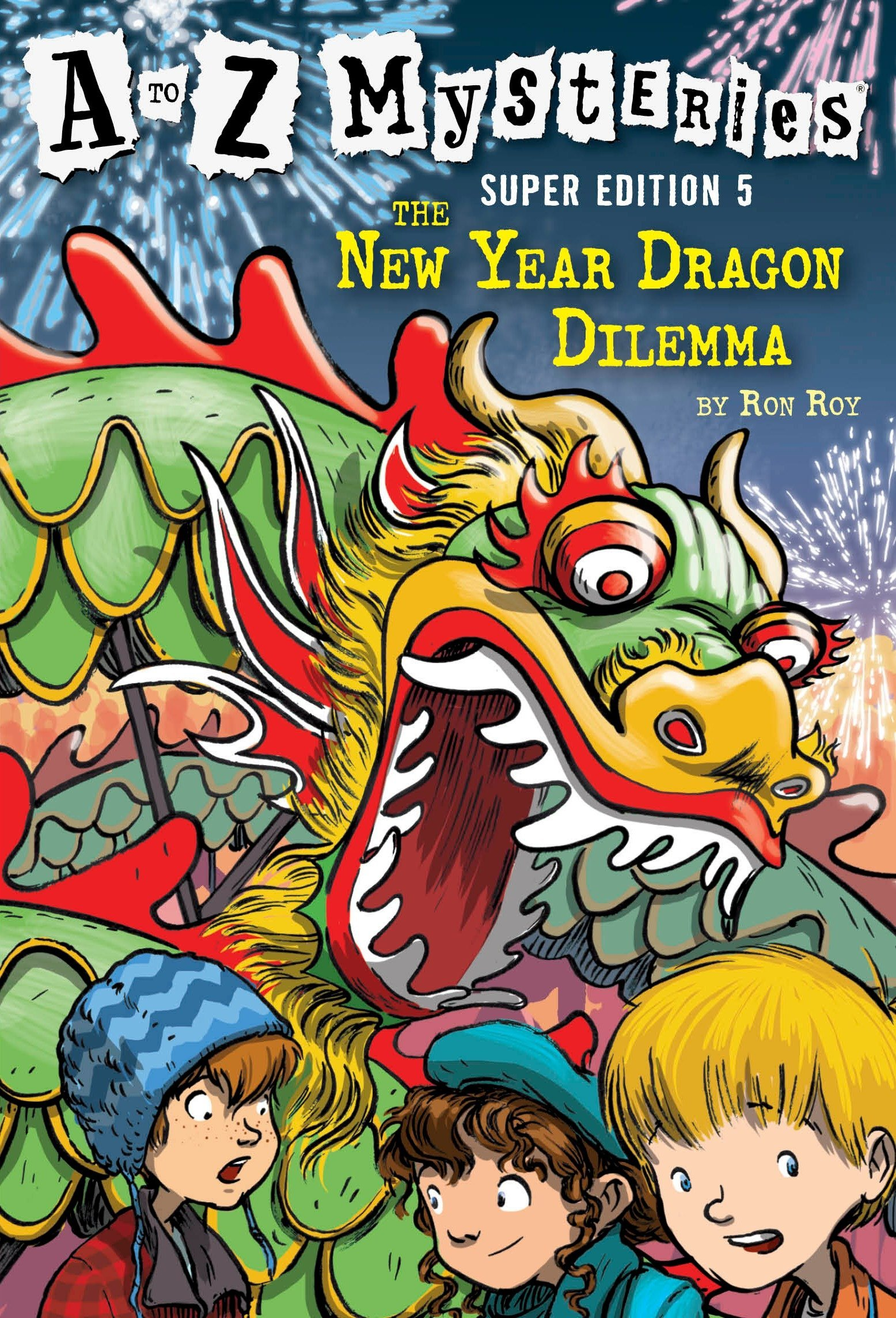 Download A to Z Mysteries Super Edition #5: The New Year Dragon Dilemma pdf