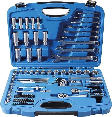4 piezas Juego de adaptadores para llaves con carraca BGS 8210