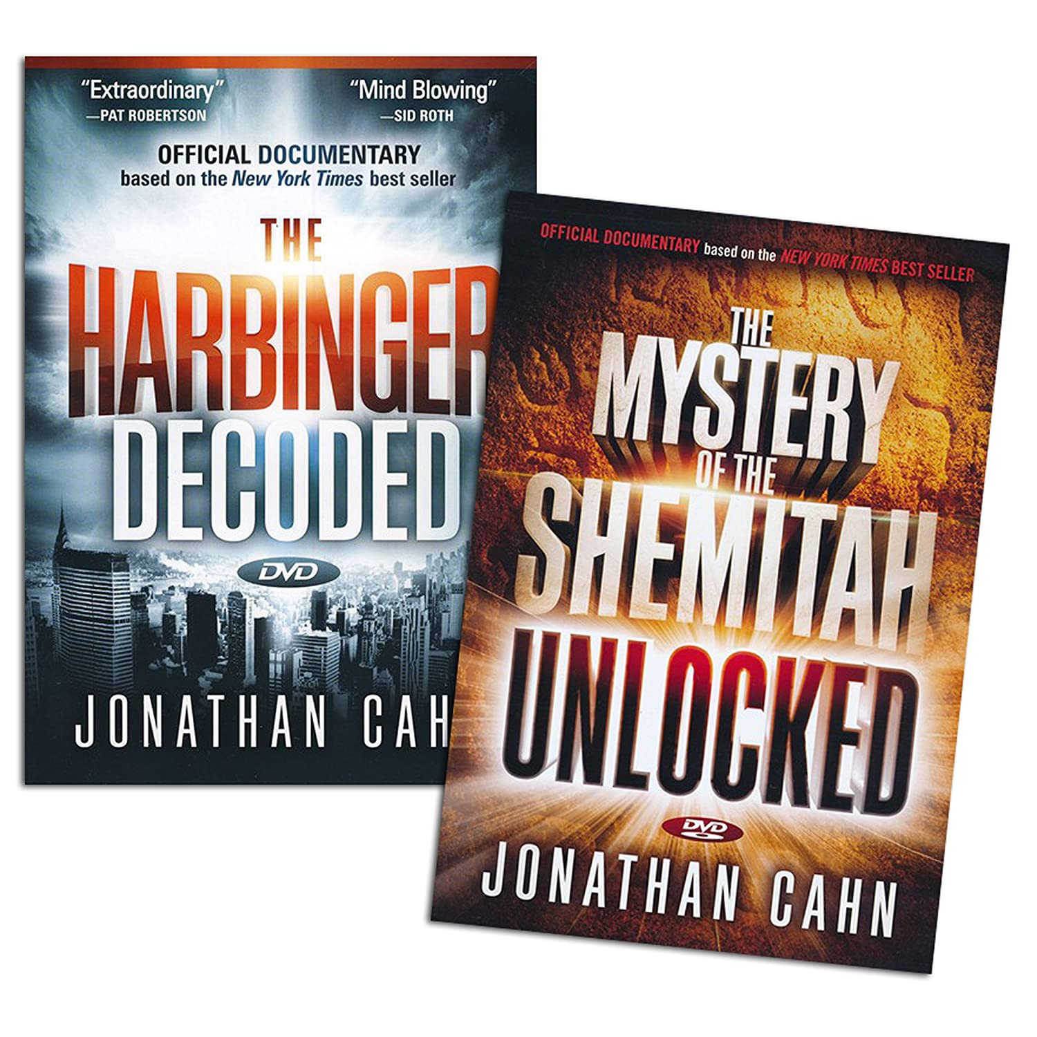 Amazon jonathan cahn dvd set the harbinger decoded the amazon jonathan cahn dvd set the harbinger decoded the mystery of the shemitah unlocked movies tv malvernweather Gallery