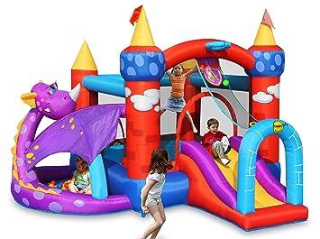 Good HAPPY HOP HAPPY HOP Aire De Jeux Gonflable Château Du Dragon