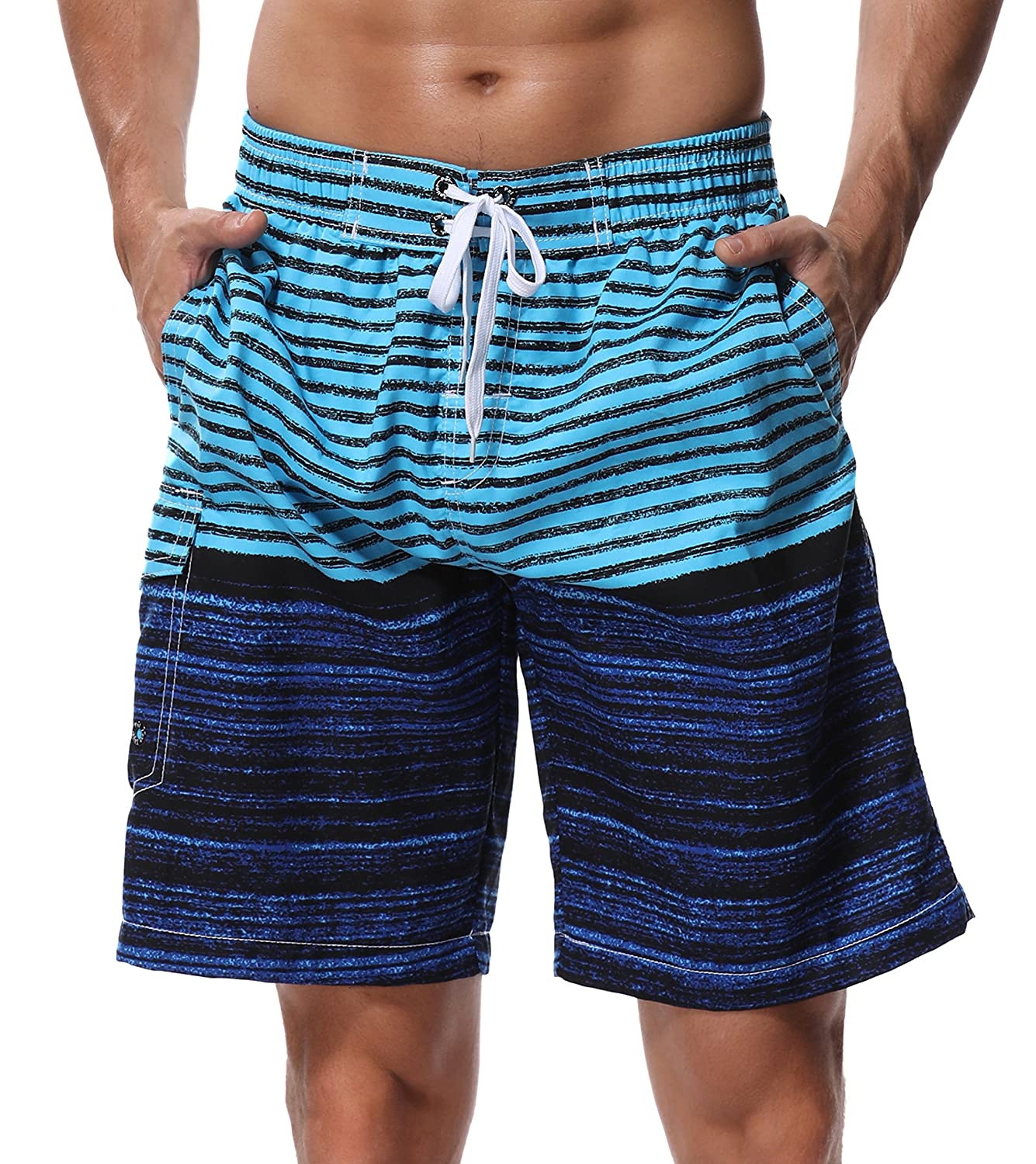 TALLA 34. SHEKINI Men New Swim Shorts Swimwear Beach Shorts Bermuda Shorts Summer Beach Sport Shorts Tallas