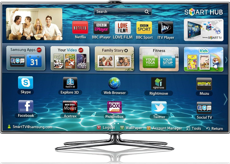 Samsung UE46ES7000Q - Televisor (116,84 cm (46
