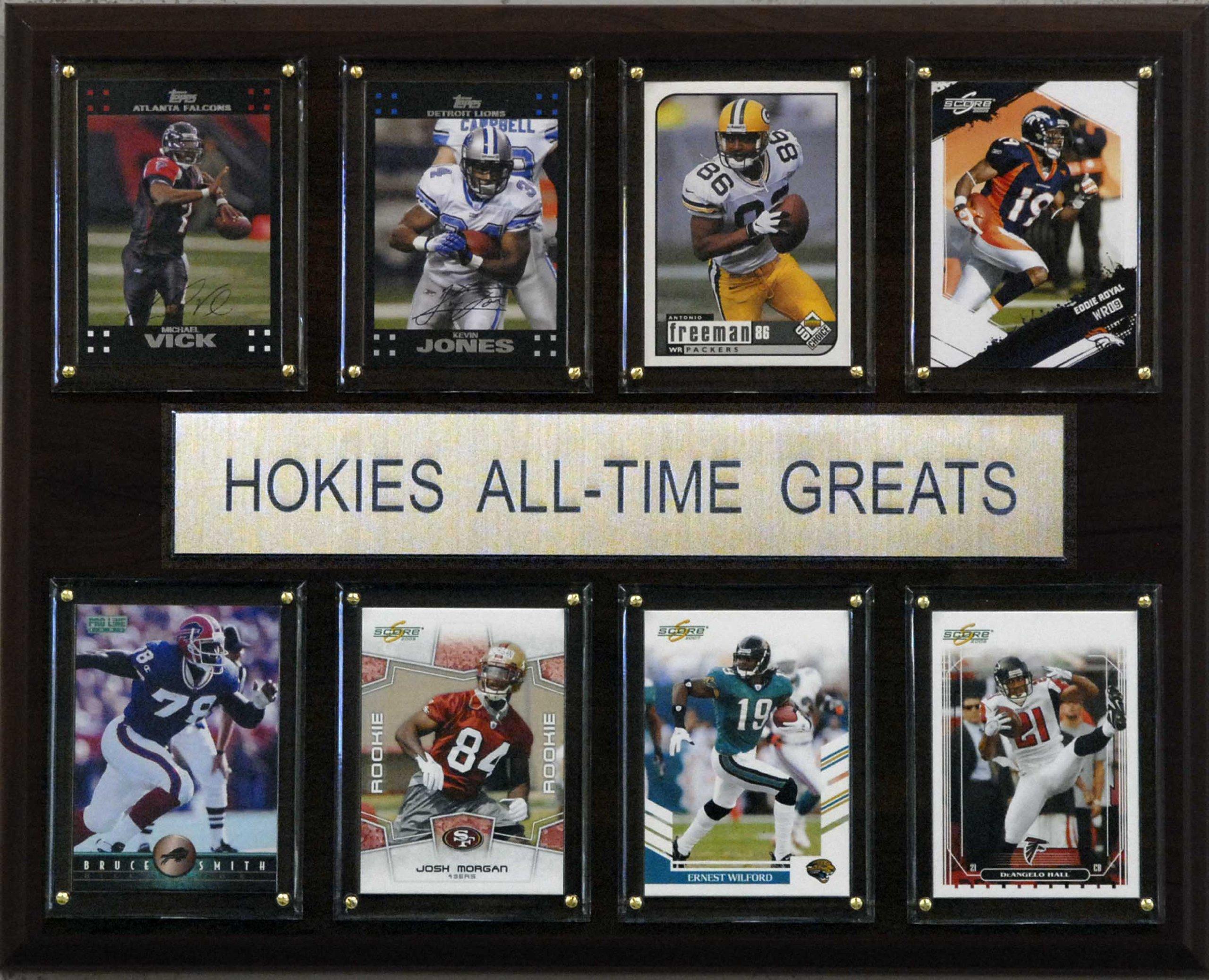 NCAA Football Virginia Tech Hokies All-Time Greats Plaque