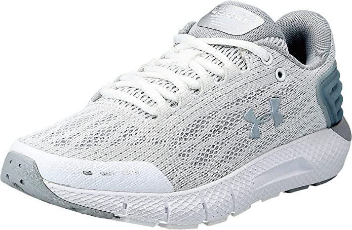 Under Armour Charged Rogue Sneakers Laufschuhe Damen Weiß/Grau