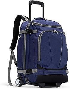 eBags Mother Lode Rolling Travel Backpack (Brushed Indigo)