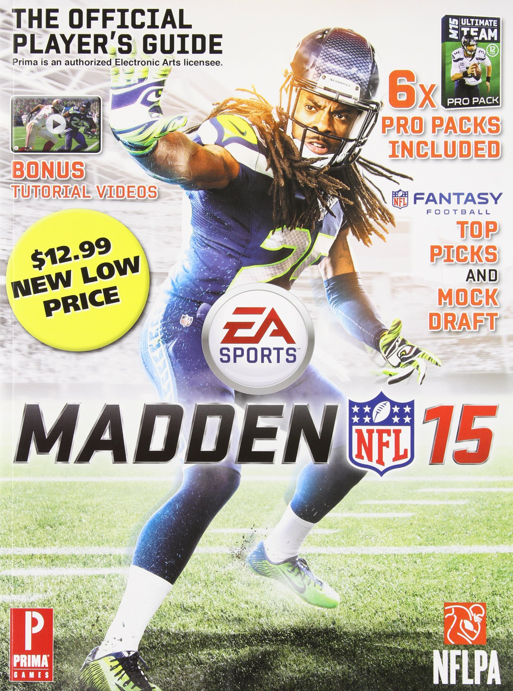 Madden NFL 15: The Official Player's Guide: Gamer Media Inc: 9780804162555:  Amazon.com: Books