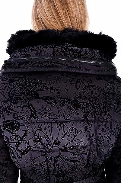 Roxana Desigual Piace Mi Amazon Abbigliamento Cappotto it Adesivo fUzqwC5z