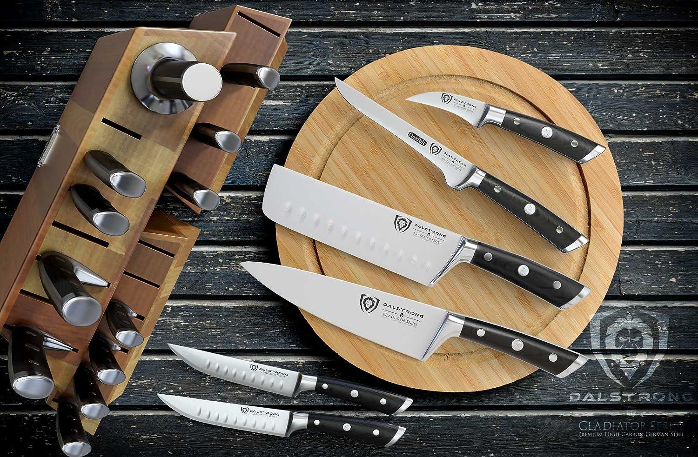 Amazon.com: Juego de cuchillos DALSTRONG Block – Juego de ...