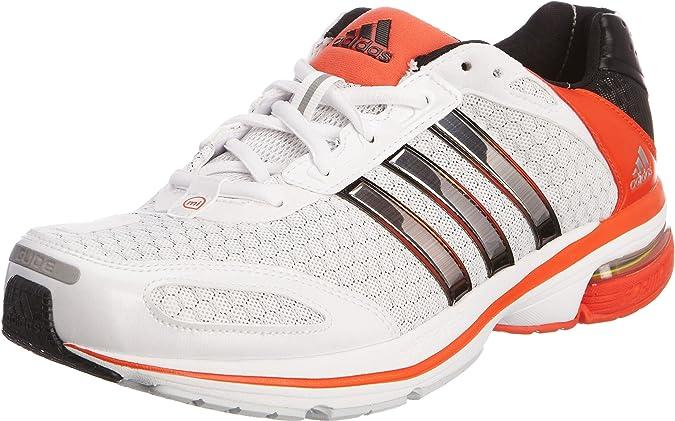 ADIDAS Supernova Glide 4 M Zapatillas de Running para Hombre (V23320) 2012, Blanco (Naranja), 44: Amazon.es: Zapatos y complementos