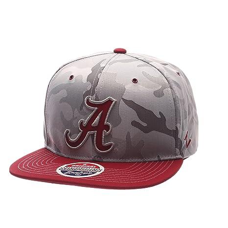 5d94cae8 ... greece zhats ncaa alabama crimson tide adult mens brigade snapback hat  adjustable size gray camo b9200