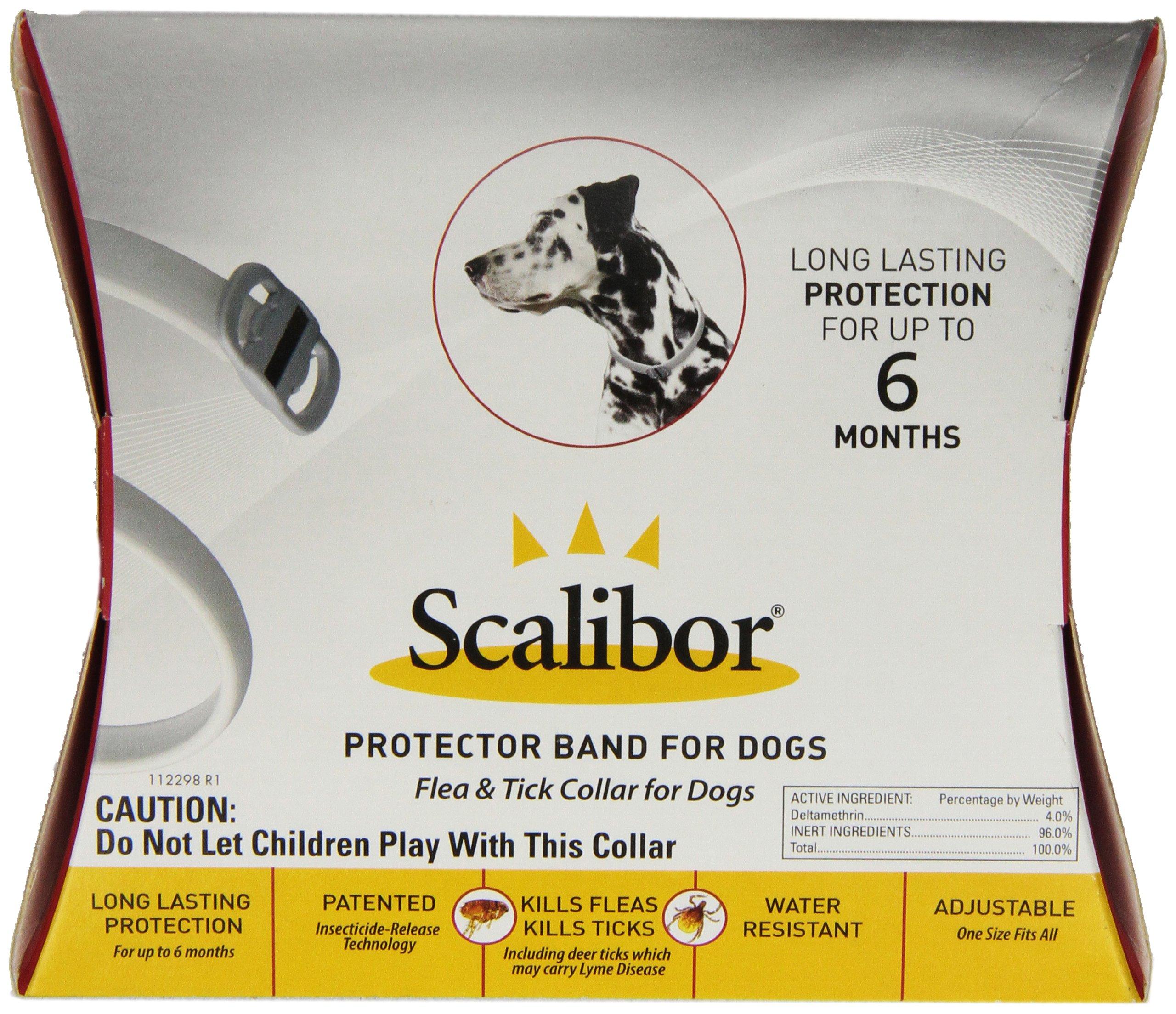 Merck Scalibor Protector Band Flea Collar for Dogs by Merck