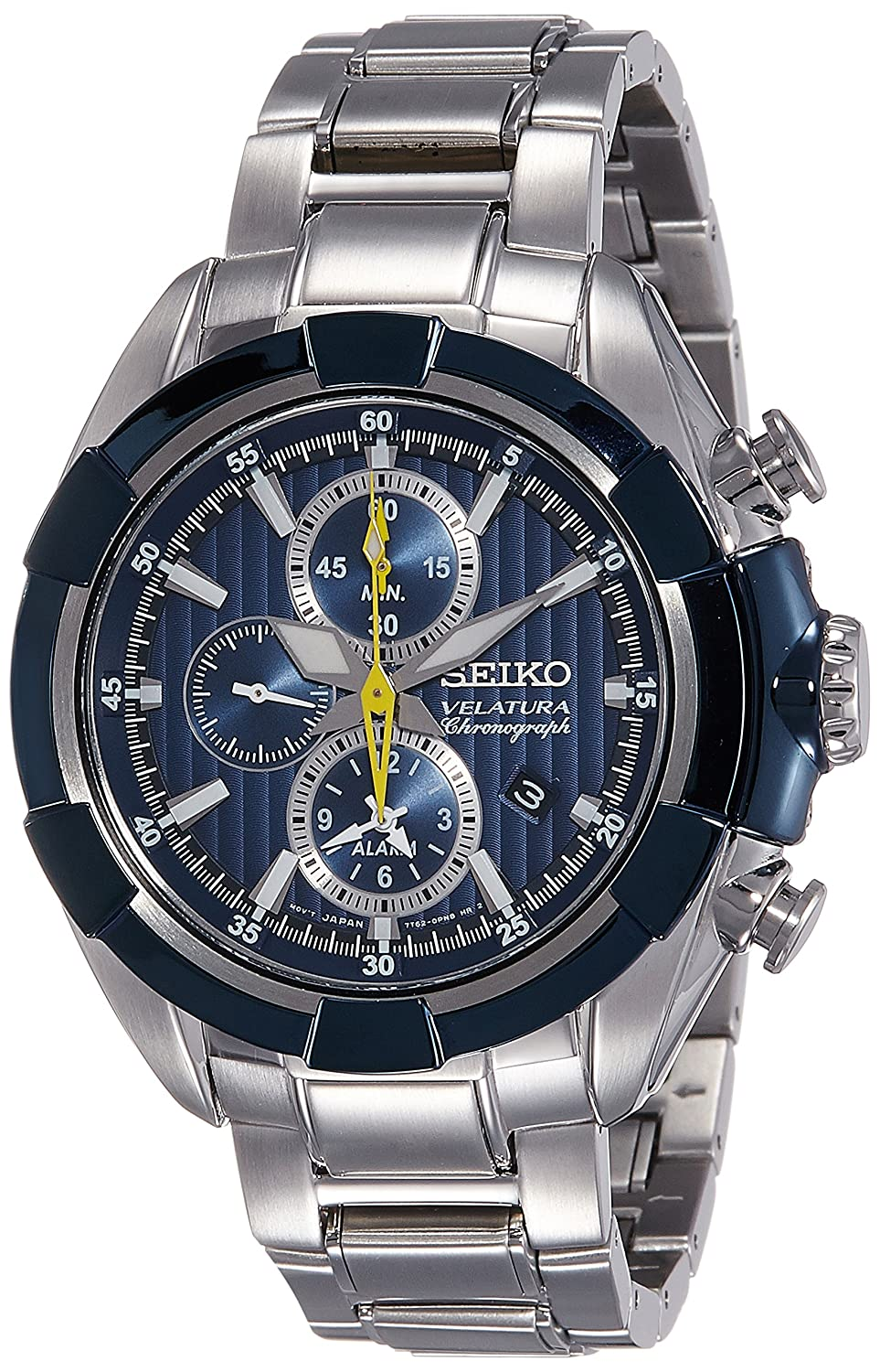 39ee59c5b Buy Seiko Velatura Chronograph 100M WR Men's Watch(SNAF41P1) Online at Low  Prices in India - Amazon.in