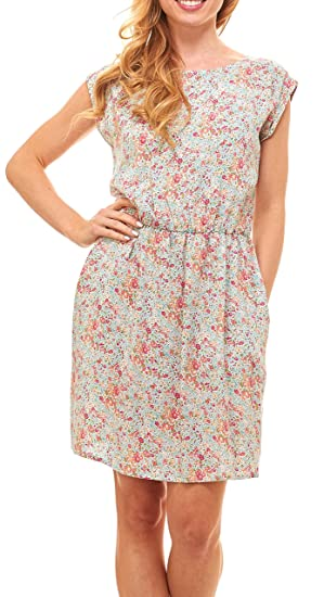 2fc9344c2c25 Red Hanger Womens Summer Dress - Floral Solid Casual Midi Dresses for Women  with Pockets