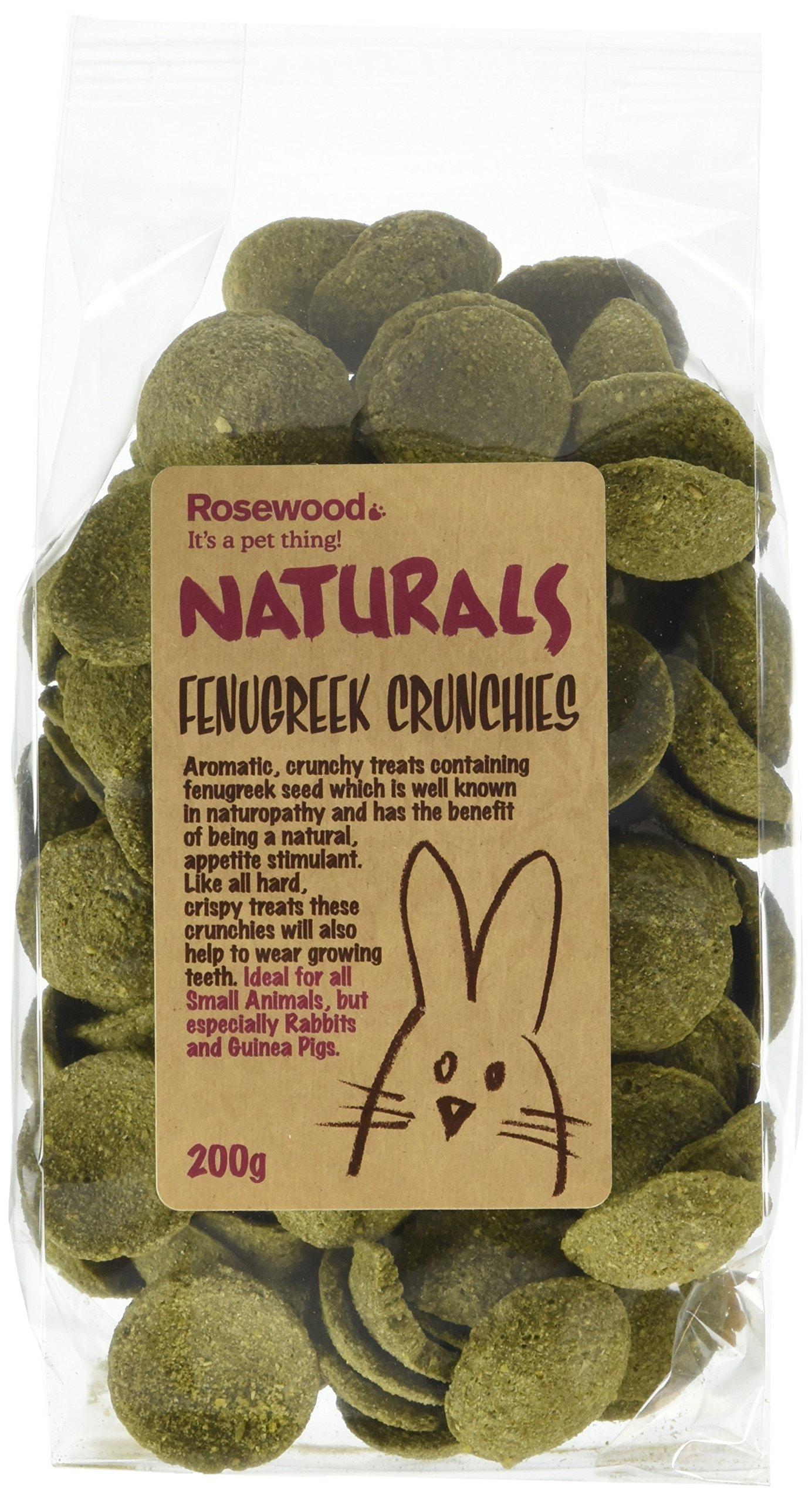 Rosewood Fenugreek Crunchies 200 g