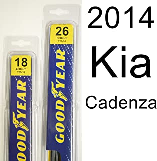 "product image for Kia Cadenza (2014) Wiper Blade Kit - Set Includes 26"" (Driver Side), 18"" (Passenger Side) (2 Blades Total)"