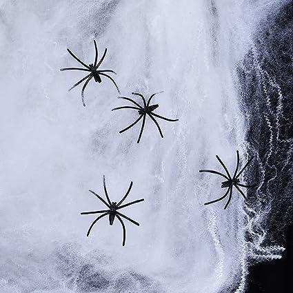 Amazon Com Sumind 120 G Spider Cobwebs White Halloween Decoration