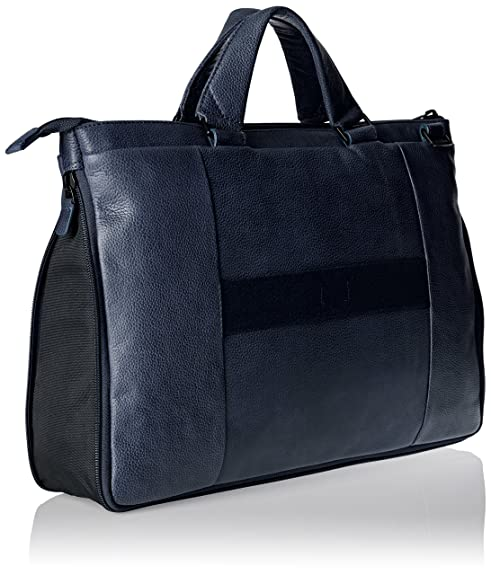 Unisex Piquadro mano Amazon Ca4021p15s Borsa it a adulto Blu 7vvSHI