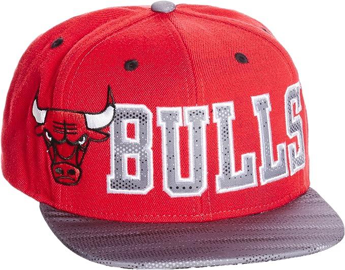 adidas Flat Cap Bulls Gorra, Hombre, Rojo/Negro/Blanco (Rojo/Negro ...