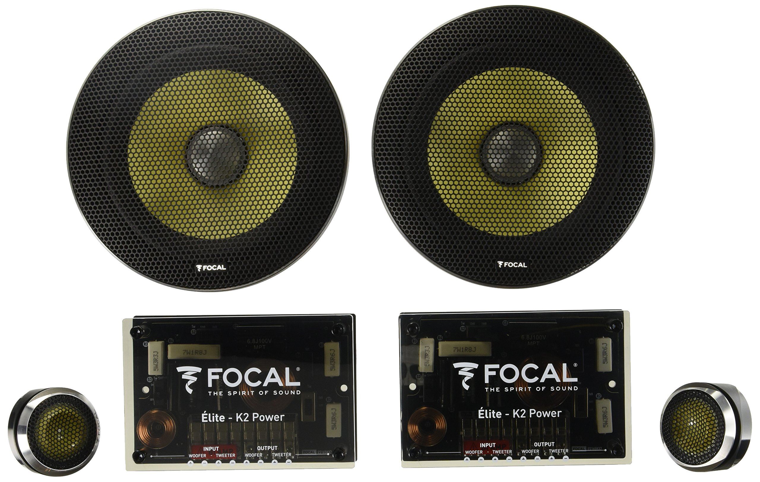 Focal ES 165KX2 6.5'' 2-Way Component Speaker Kit
