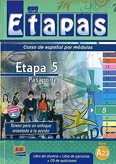Pasaporte - Libro del alumno: 1 (Etapas)