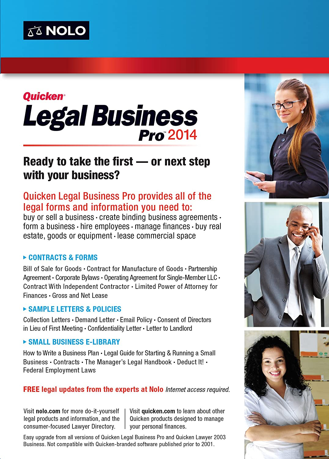 Amazoncom Quicken Legal Business Pro Software - Where to buy legal forms