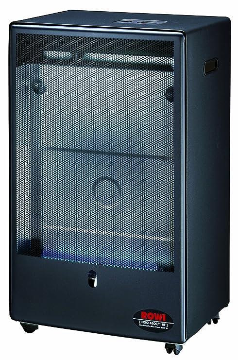 Rowi 1 03 02 0022 - Estufa de gas (llama azul, 4,2
