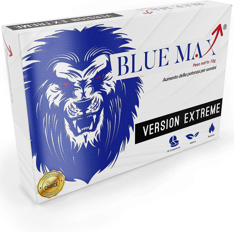 Blue Max® Extreme 160 Mg Para Hombres - 100% Natural - Sin Receta Médica - Sin Contraindicaciones - 1000 Mg Por Tableta: Amazon.es: Salud y cuidado personal