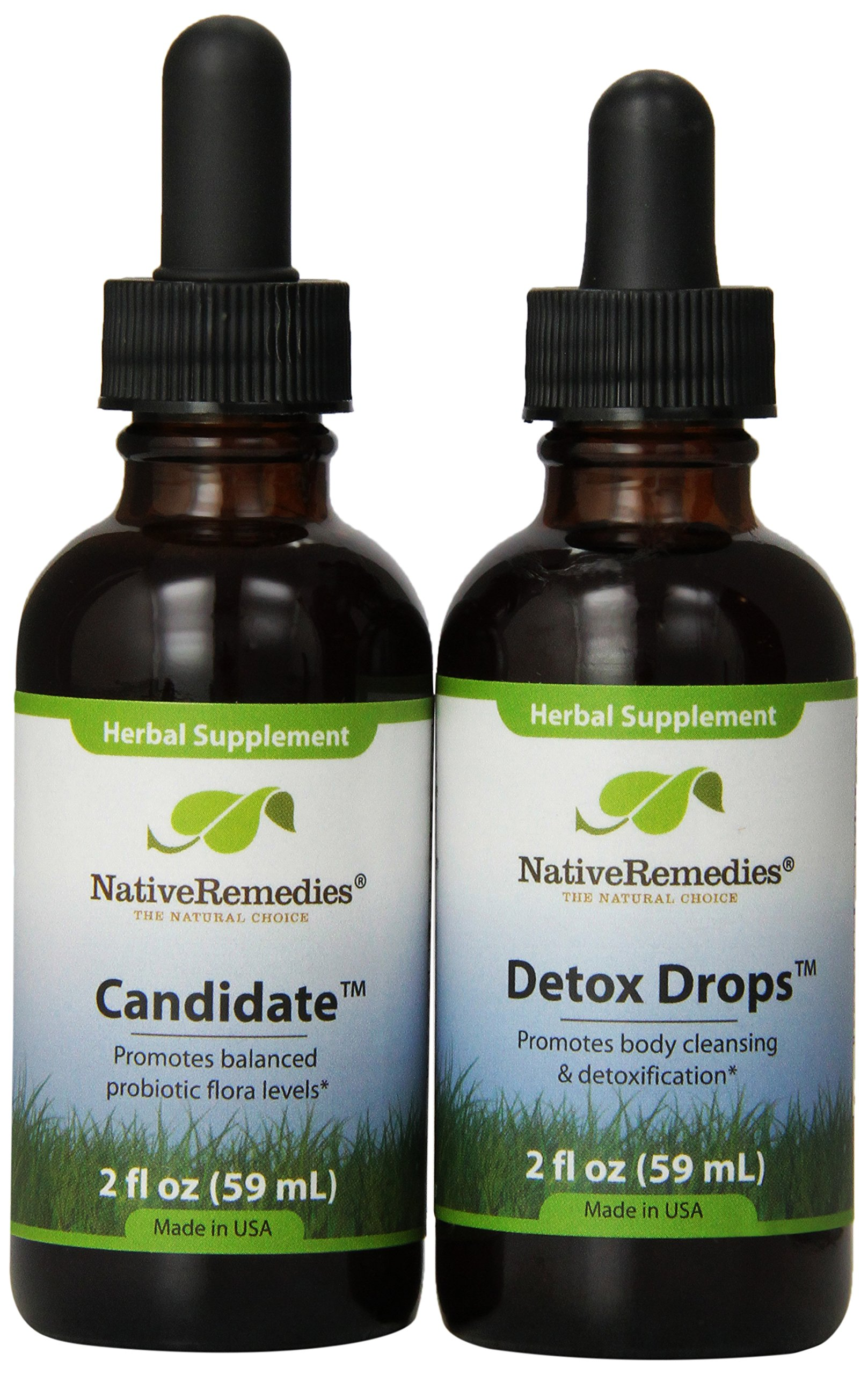 Native Remedies Candidate and Detox Drops ComboPack by Native Remedies