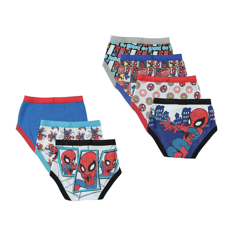 Marvel Little Boys Spiderman Seven-Pack of Briefs