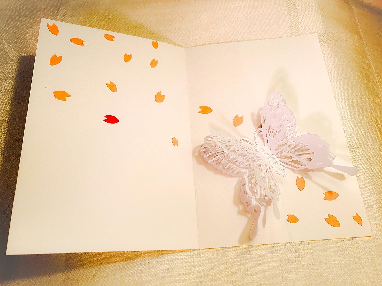 桜のグリーティングカード