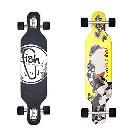 Amazon.com : lordofbrands Fish Skate monopatin Skateboard ...
