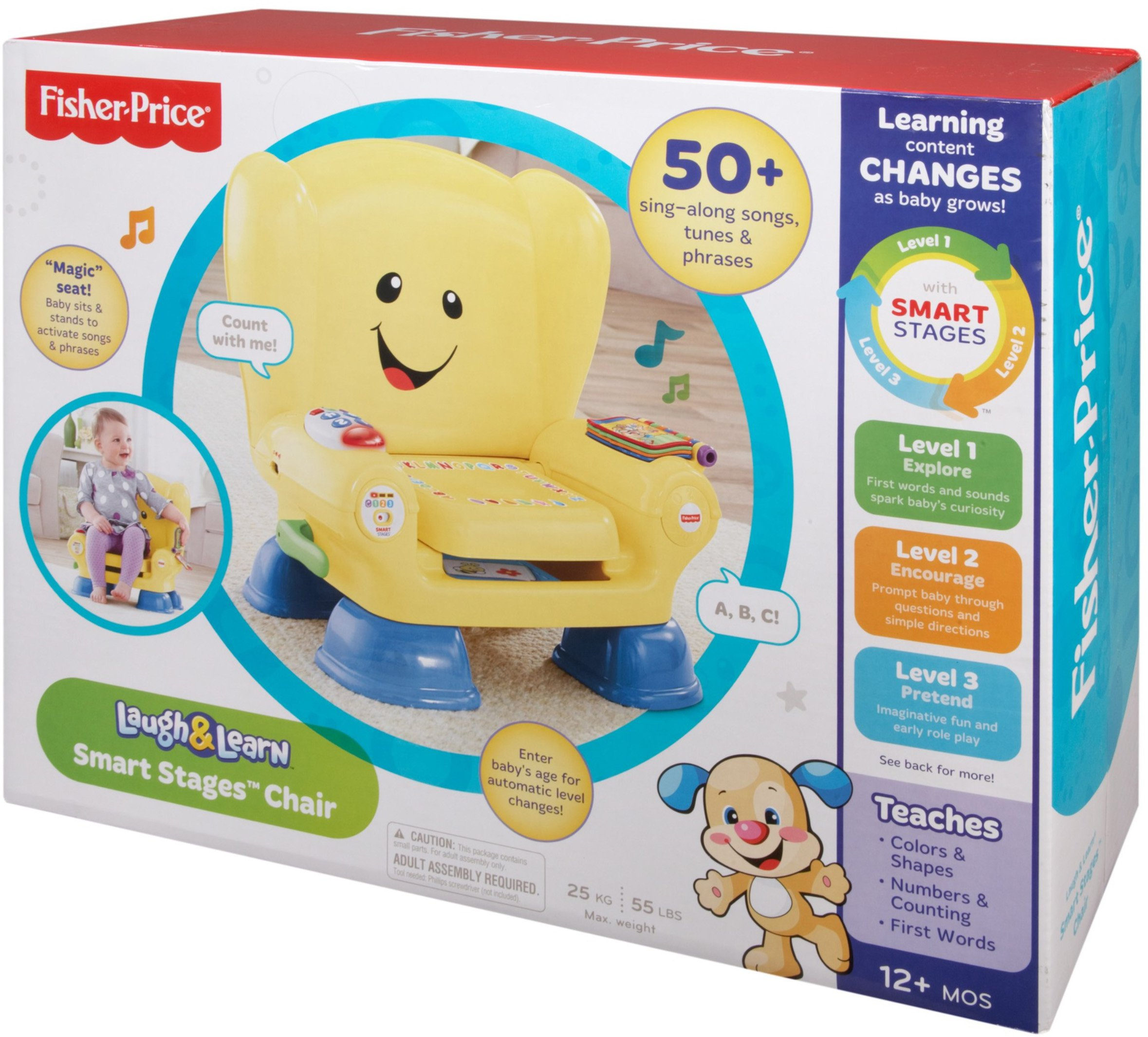 Fisher-Price Laugh & Learn Smart Stages Chair by Fisher-Price (Image #15)