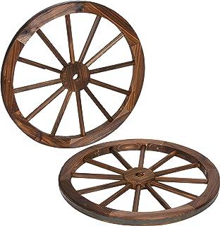 Amazoncom Wagon Wheel Cutout Unfinished Wood Oregon Trail Covered