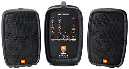 front facing jbl eon206p