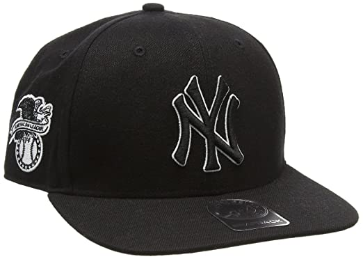 the best attitude c6942 50b74 47 Unisex MLB New York Yankees Sure Shot  47 Captain Baseball Cap, Black,