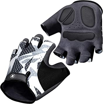 Anti-Slip Men Women Cycle Sports Half Finger Gloves Cycling Bike Racing Glove US