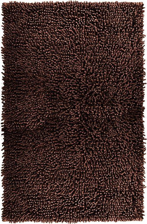 Lashuma - Alfombrilla de baño, chenilla, alfombra de baño, algodón ...